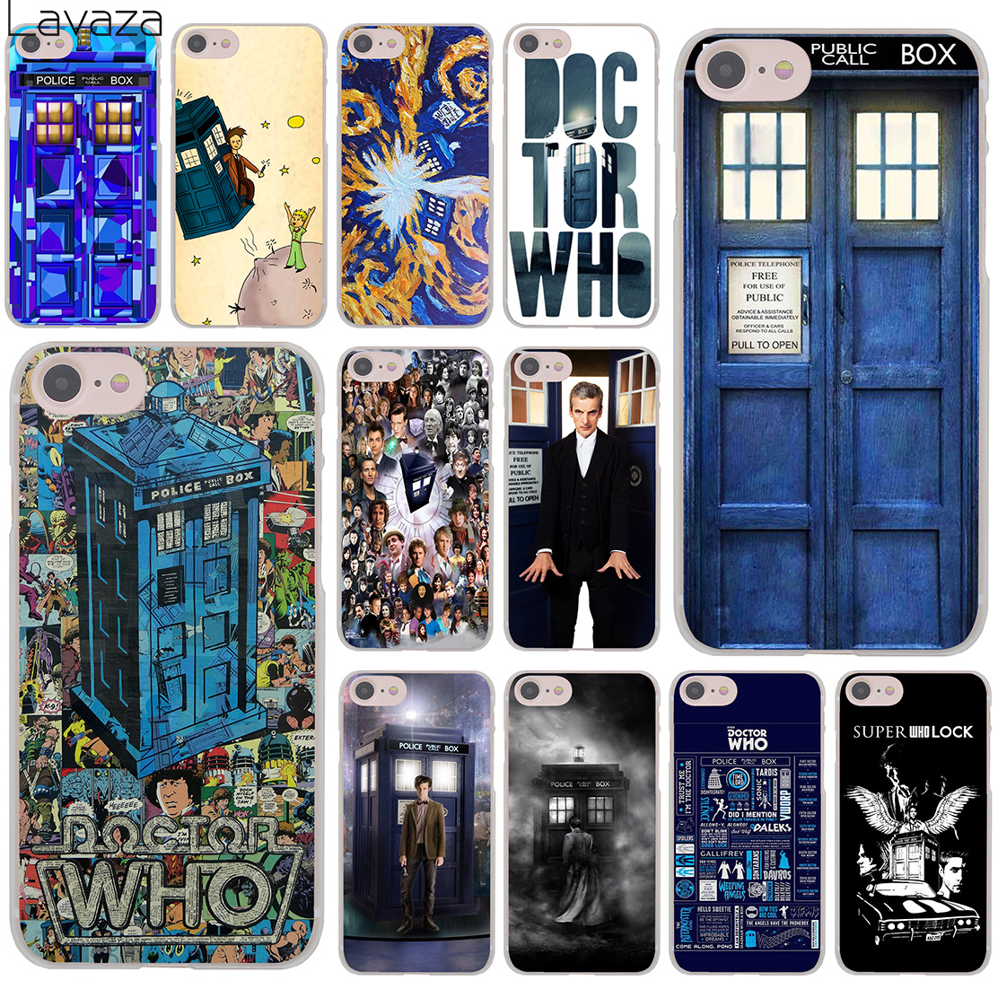 Maiyaca Tardis Box Doctor Who Luxury Fashion Cell Phone Case For Apple Iphone 8 7 6 6s Plus X 5 5s Se Xs Xr Xs Max Cover Phone Bags & Cases Half-wrapped Case