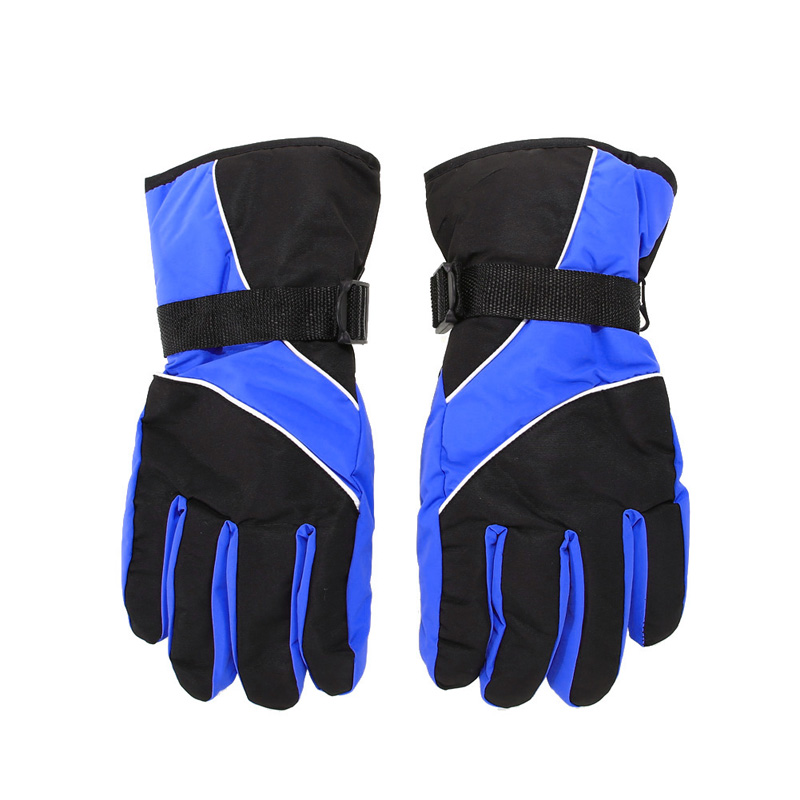 New Men font b Ski b font Gloves Thermal Waterproof For Winter Outdoor Sports Snowboard Unisex