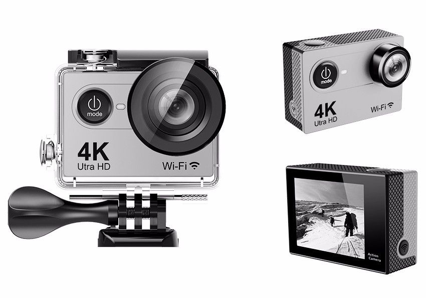 Freeshipping Original 1080P Full HD mini camera 60fps wifi 4k action be unique waterproof sport camera H9/H9R/H9se/H9Rse/H9pro sport elite se 2450