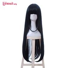 купить✲  L-mail парик New Eromanga Sensei Tomoe Takasago Косплей парики 80см Темно-голубой Термостойкий