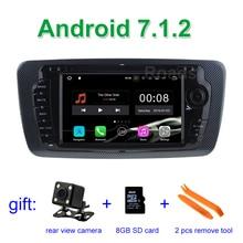 2 GB de RAM Android 7.1.2 Coches Reproductor de DVD para Seat Ibiza 2009 2010 2011 2012 2013 con el Bluetooth De Radio WiFi GPS