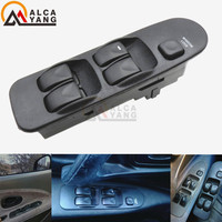 Fit Mitsubishi Carisma Electronic Power Window Switch Control Master Panel Switches Front Universal Right Left 5Bottons