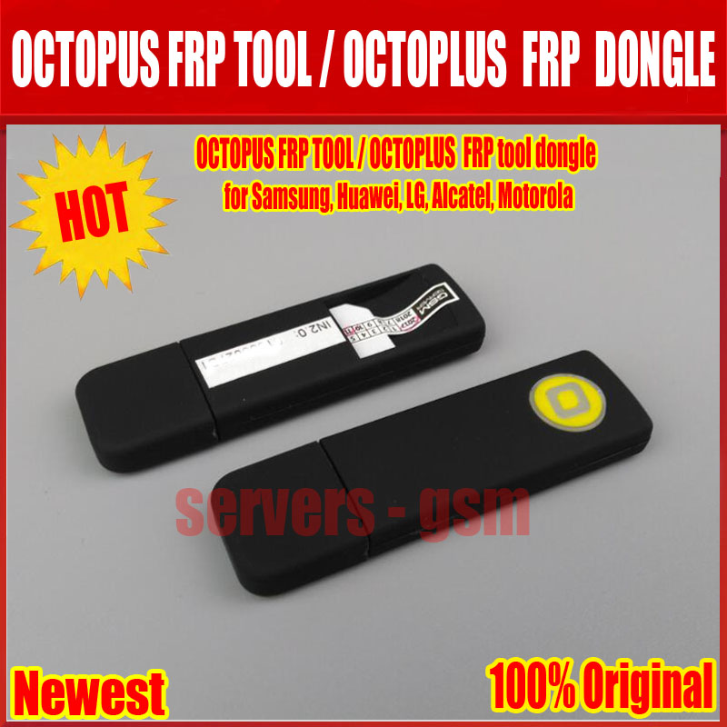 2019 Newest Original OCTOPUS FRP TOOL / OCTOPLUS FRP tool dongle for  Samsung, Huawei, LG, Alcatel, Motorola