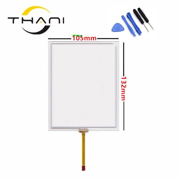 NEW 5.74 wire 132mm*105mm Resistive TouchScreen for Korg M3 Korg PA800 PA2X Pro touch screen digitizer panel free shipping+tool