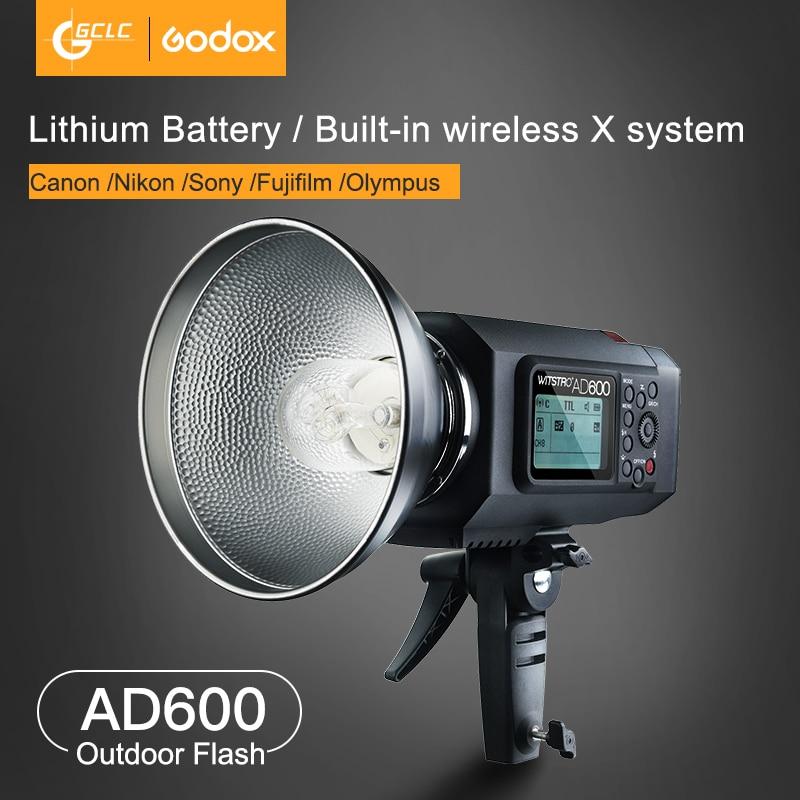 Godox AD600B Bowens Mount 600Ws GN87 High Speed Sync Outdoor Studio Flash Strobe  Light Wireless Control