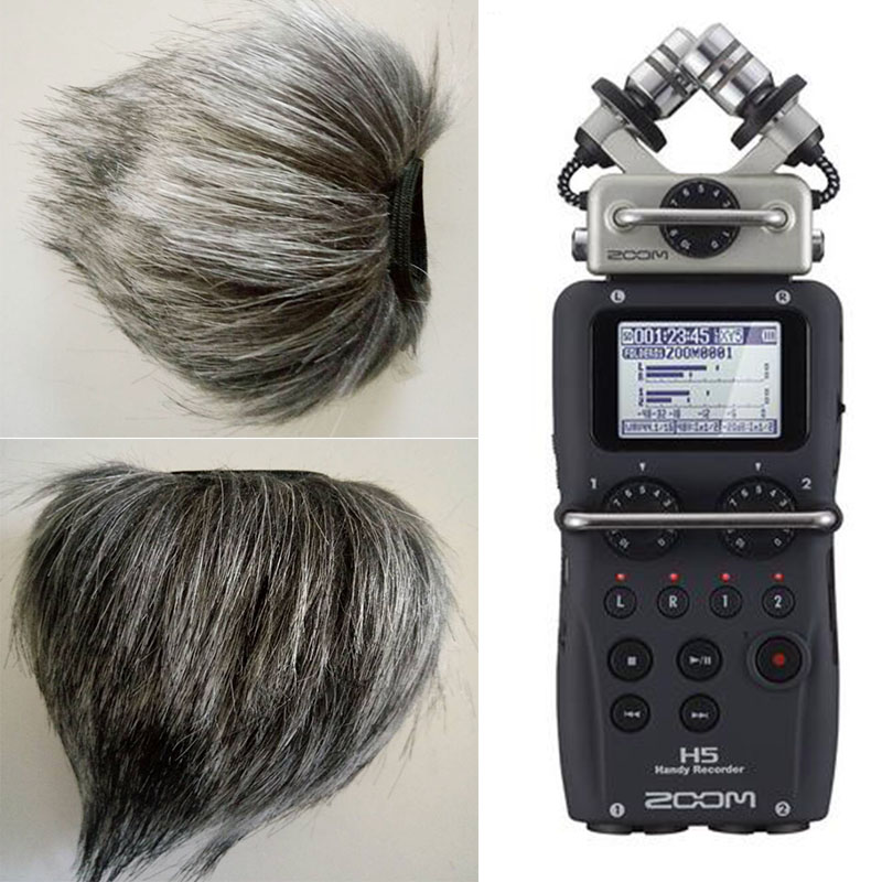 Profession Microphone Furry Wind Cover For ZOOM H5 H6 Four-Track Portable Recorder Voice Recording Pen New Style HN-15