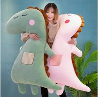 WYZHY New soft dinosaur with sleeping pillow plush toy large doll to send friends and children gifts 110CM