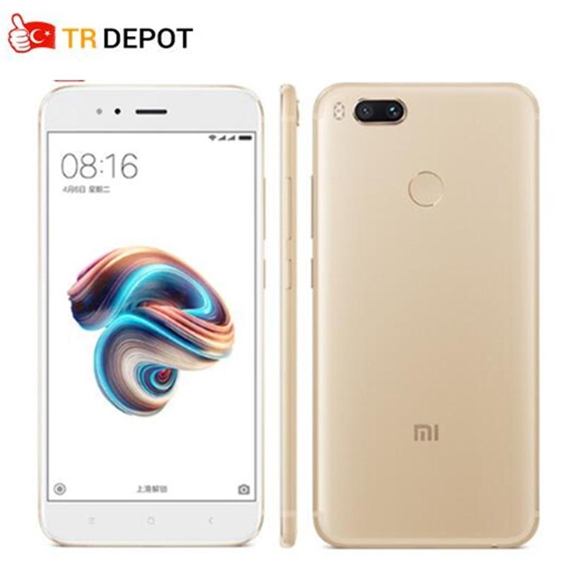 D'origine Xiaomi Mi 5X Mi5X Snapdragon 625 Octa base Smartphone 4 GB 64 GB FDD 5.5 FHD MIUI Double 12.0MP Caméra D'empreintes Digitales ID