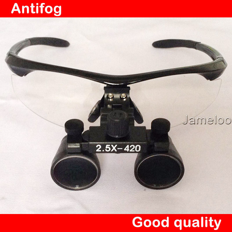 HOT SALE 2 5X Magnify Binocular Medical Use Dental Magnifier Adjustable Surgical Loupes with optical glass