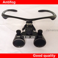 HOT SALE!! 2.5X Magnify Binocular Medical Use Dental Magnifier Adjustable Surgical Loupes with optical glass