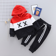 2020 Spring Children Toddler Clothing Baby Boys Girls Clothes Suit Infant Tracksuit Kids Sports Hooded Sweater Pants 2pcs/Sets ideacherry children clothing sets hooded toddler leisure coats sweatshirt leggings suit for girls clothes pants sports suits