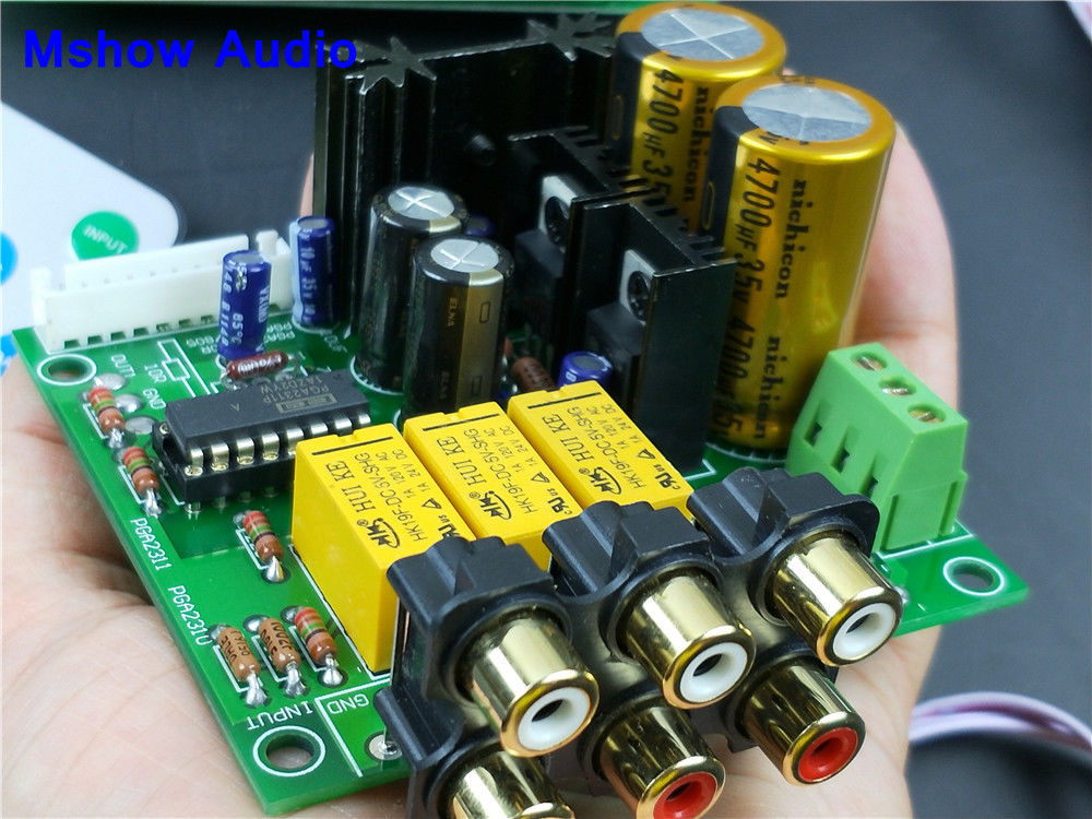 upgrade PGA2311 Stereo Volume Control Preamp preamplifier pre-amp HIFI audio assembled board free shipping edmund burke the works of the right honourable edmund burke vol 09 of 12
