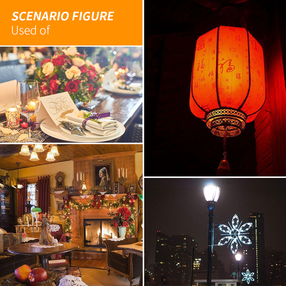Купить с кэшбэком E27 LED Flame Effect Lamp 220V Led Dynamic Fire Light Bulb 110V Led Creative Flame Lampara Christmas Decoration Lights AC85-265V