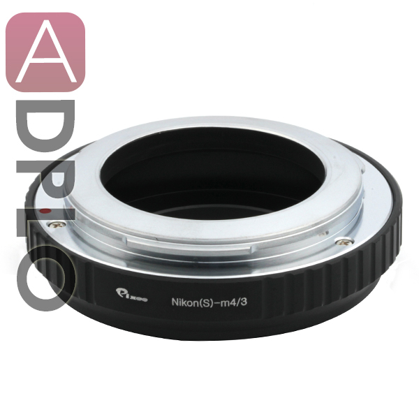 Pixco Lens Adapter Ring Suit For Nikon microscope S AI-S lens to Micro 4/3 M43 GF1 GX1 G3 GH2 E-P2 E-PM1 OM-D E-M1 E-M5 Camera