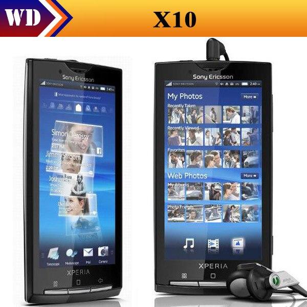 bilder für X10i Sony Xperia X10 8MP Wi-Fi Android 4.0 zoll handy refurbished