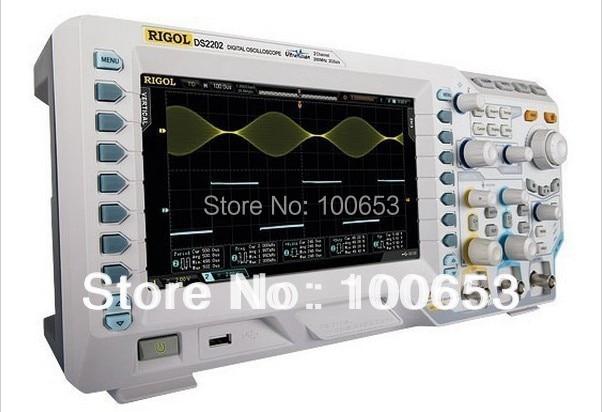 Rigol DS2072A Oscilloscope 70MHz 2Channels 2GSa/s Memory Depth 14Mpts 8 Inches TFT LCD USB