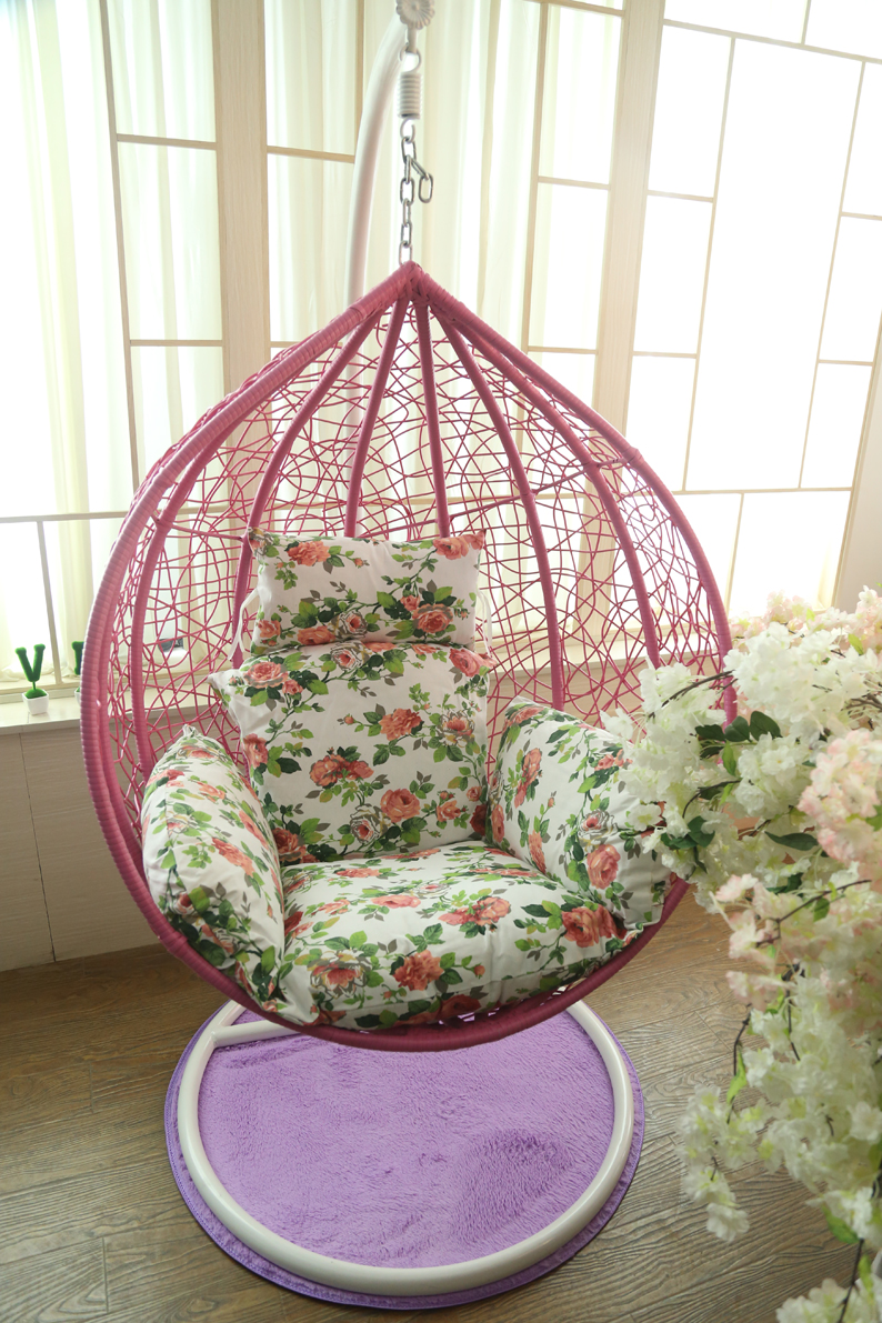 Wicker Chairs Indoor Us 209 Basket Hanging Chair Swing Rattan Indoor Single Moon Dormitory Balcony Patio Outdoor Wicker Chairs Rocking In Hanging Baskets From Home