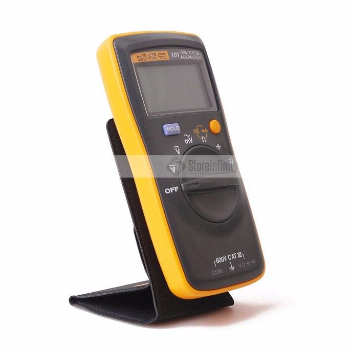 Free Shipping New Fluke 101/101kit/106/107 Handheld Digital Auto Range Digital Multimeter AC/DC Easily Carried mini DMM meter