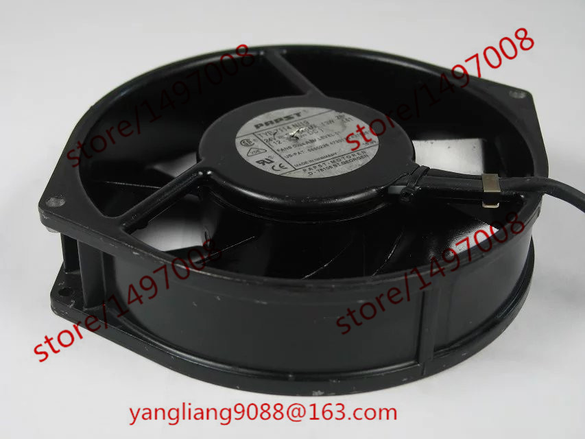 Free Shipping For ebmpapst  TYP7114N/19 TYP 7114 N/19 DC 24V 0.13W 3-wire 3-Pin connector 120mm 170x170x38mm Server Cooling fan free shipping for delta afc0612db 9j10r dc 12v 0 45a 60x60x15mm 60mm 3 wire 3 pin connector server square fan