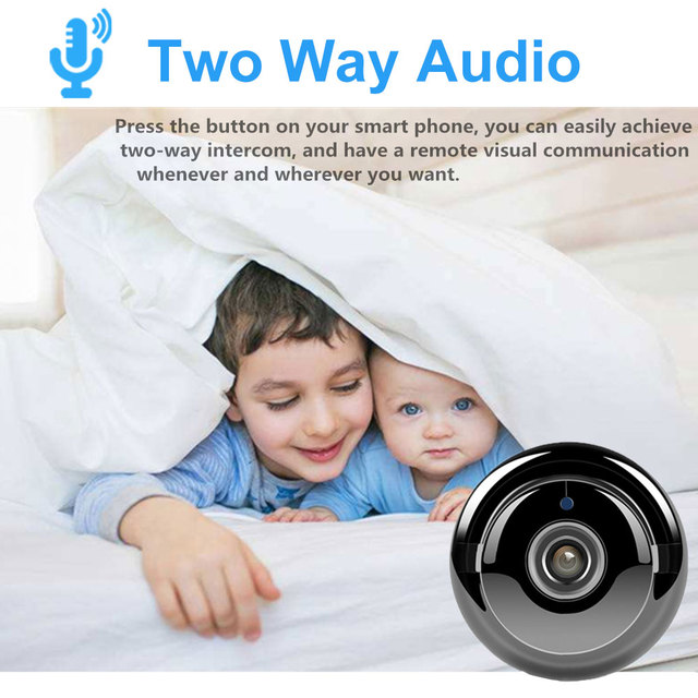 Wireless Mini WiFi Camera 960P HD IR Night Vision Home Security IP Camera CCTV Motion Detection Baby Monitor Cam Yoosee View 1
