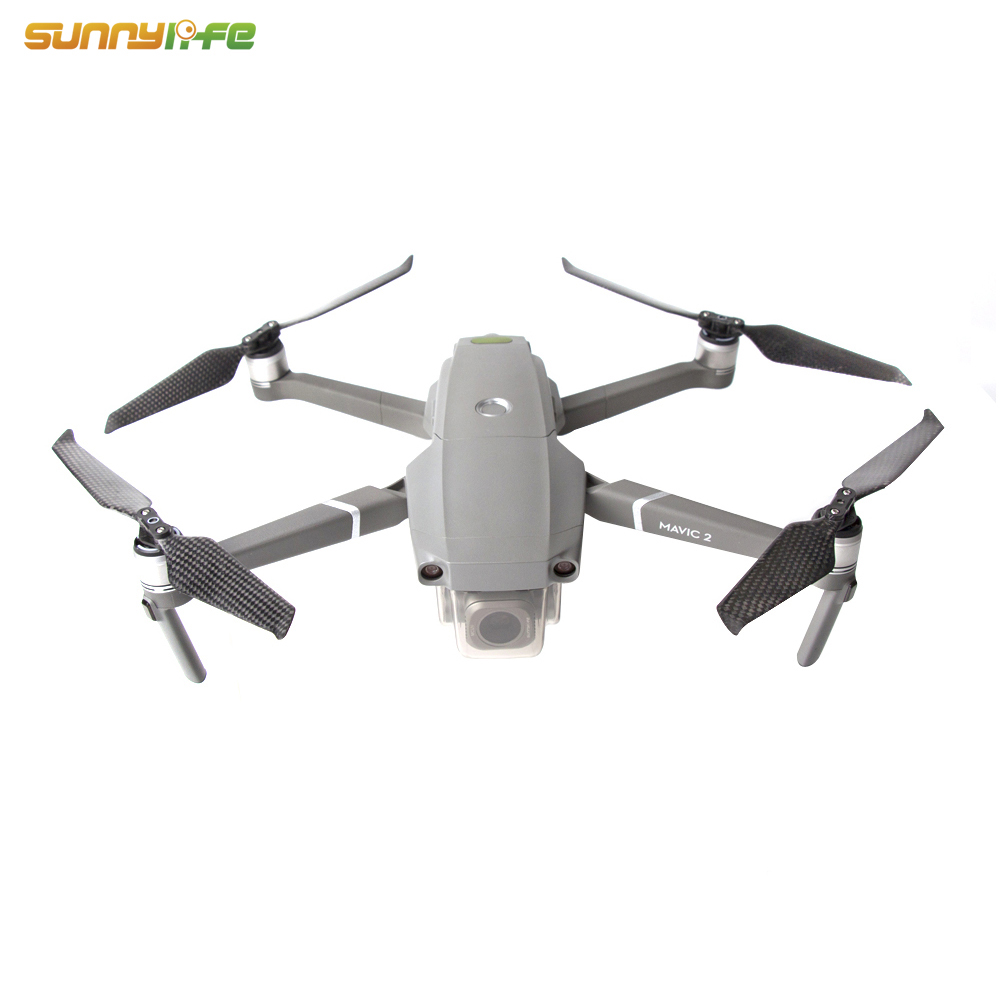 Low Noise 8743F Carbon Fiber Propellers for DJI MAVIC 2 PRO/ ZOOM Drone Accessory
