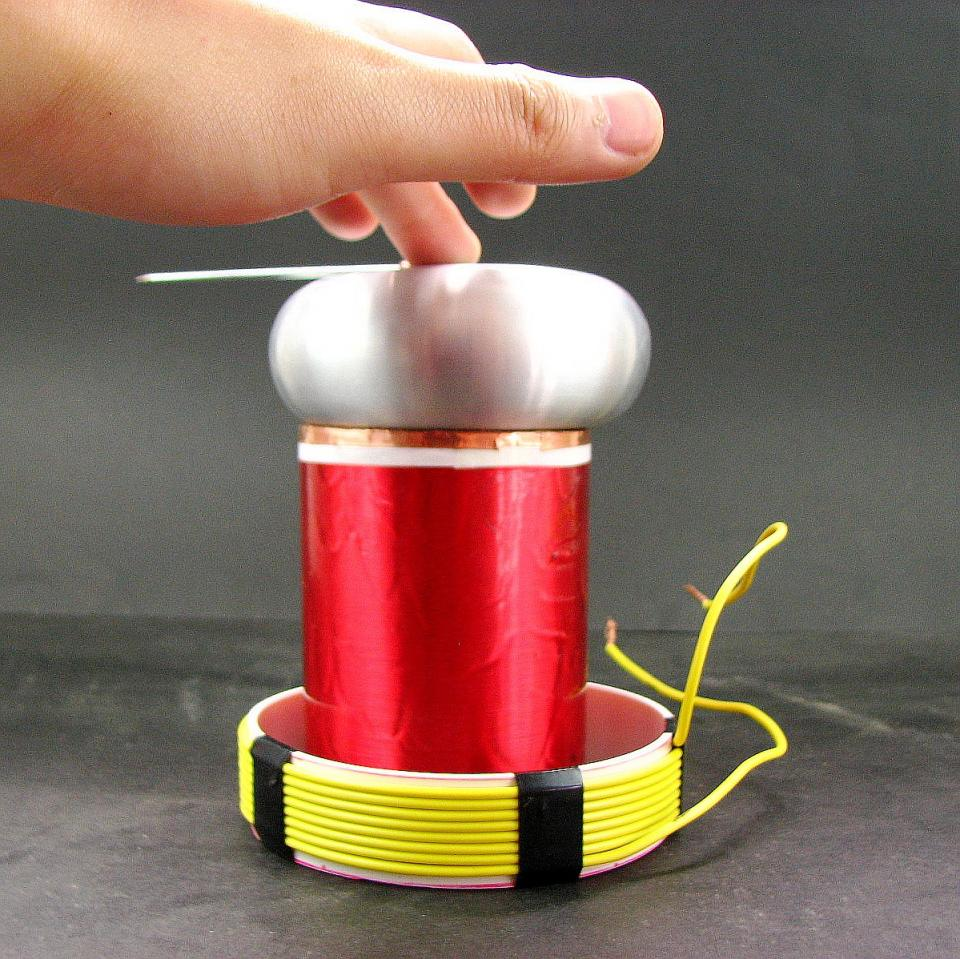 Alloy top load Primary coil and Secondary coil Tesla coil project Tiny SSTC DRSSTC Parts цена и фото