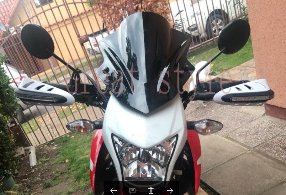 New bike Motorcycle Motorbike Windshield WindScreen For Kawasaki Z 250 300 750 750R 800 1000 Vulcan