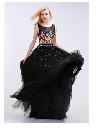 finove черный русалка бальные платья о средства ухода за кожей шеи рукавом штапики пром платья иллюзия винтаж пол длина выпускной платья для вечеринок халат