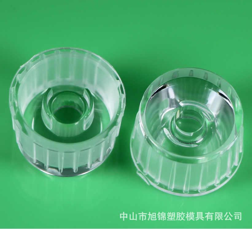 50 unités/beaucoup, lentille imperméable de lentille de transmittance élevée de LED lentille de 20mm 120 degrés, lumières de mur de blanchisserie met en lumière la lentille spéciale