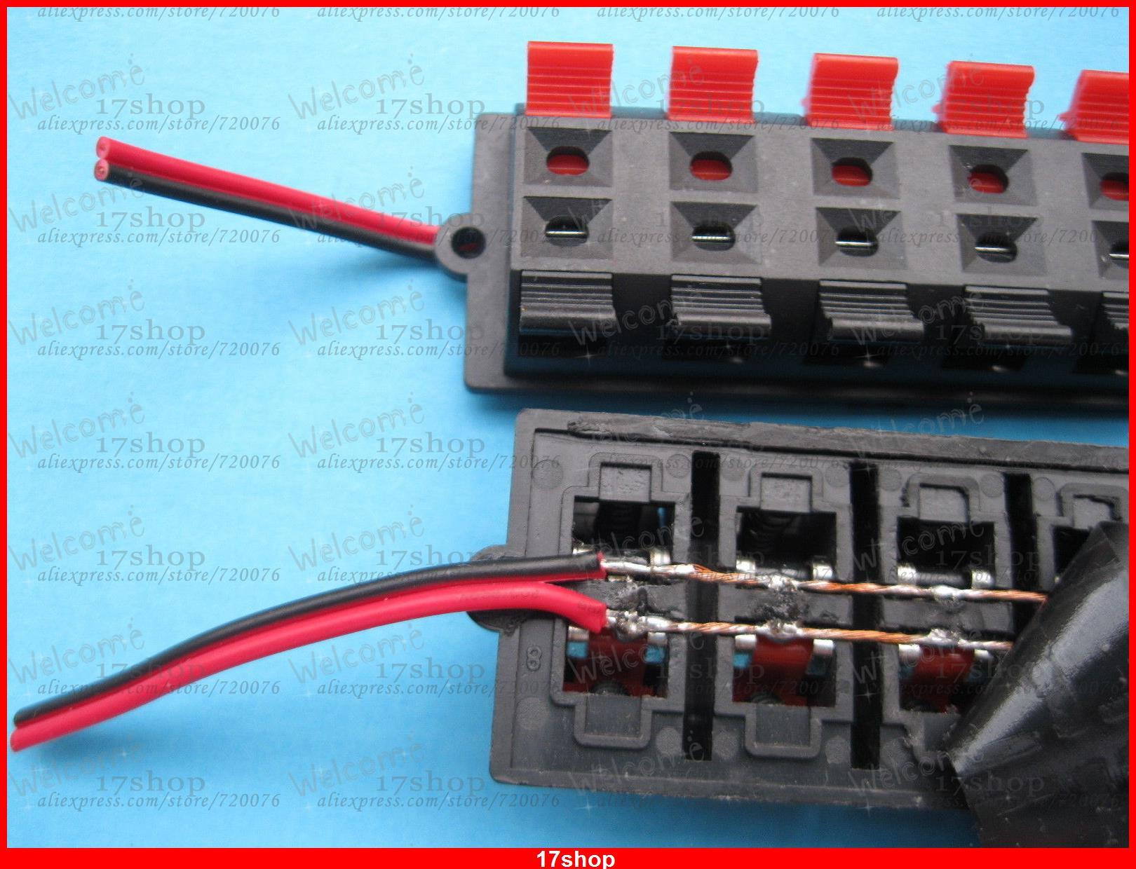 3 stücke 12 Pin Lautsprecher Terminal Board Stecker Gefederte Mit ...