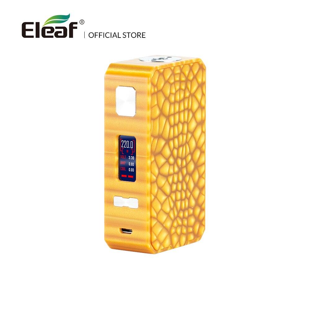 Original Eleaf Saurobox Box Mod 220W Output Wattage TC-Ni/Ti/SS/M1/M2/M3 Mode Electronic Cigarette цена