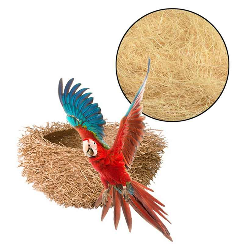 Jute Nesting Material 30g Nest / Fibre Aviary Birds Canaries Finches