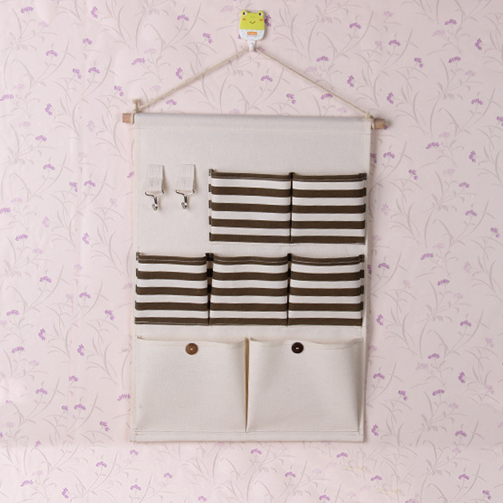 Creative 7 Pockets Organizer Multilayer Hanging Storage Bags Wall Mounted Jewelry  Closet Organizer Hanger Pouch In Storage Bags From Home U0026 Garden On ...