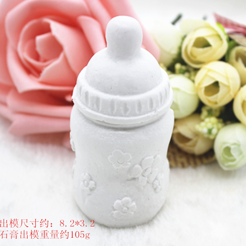 3D Silicone Feeding Bottle Baby Bottle Aromatherapy Claster car Mounted Mould Cake Decoration Fondant Mold Mould Bakeware
