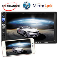 Bluetooth 7'' Touch Screen MP5 MP4 2 Din AUX USB TF 2018 New Car Radio Stereo Multi languages 12V Mirror Link