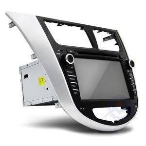 Image 4 - Автомобильный DVD плеер, 2 din, мультимедийный плеер для Hyundai Solaris, accent, Verna, i25, Авторадио, GPS навигация, стерео радио, BT, ipod, USB порт, карта