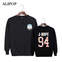 ALIPOP KPOP Korean BTS 2th Album WINGS Bangtan Boys Hip Hop HipHop Monster Cotton Hoodies Clothes