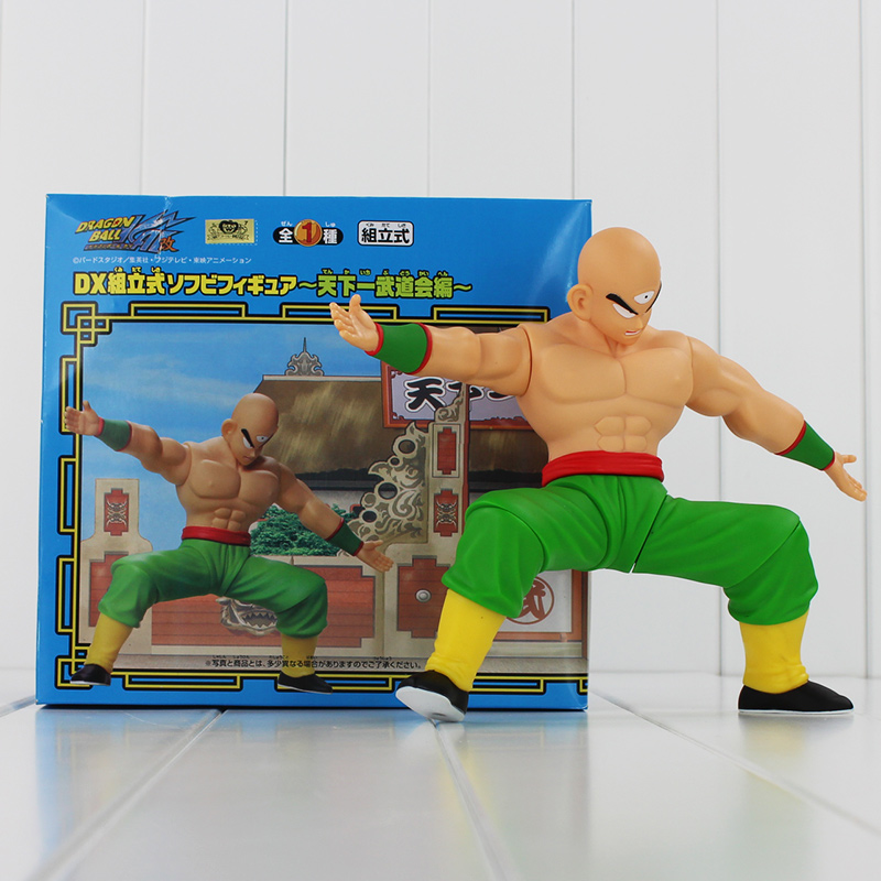 20cm Dragon Ball Tien shinhan dragonball Tien shinhan joint movable action figure toys doll collection with box