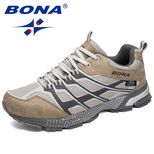 Image 3 - BONA New Classics Style Men Running Shoes Outdoor Walking Jogging Sneakers Lace Up Mesh Upper Athletic Shoes Fast Free Shipping
