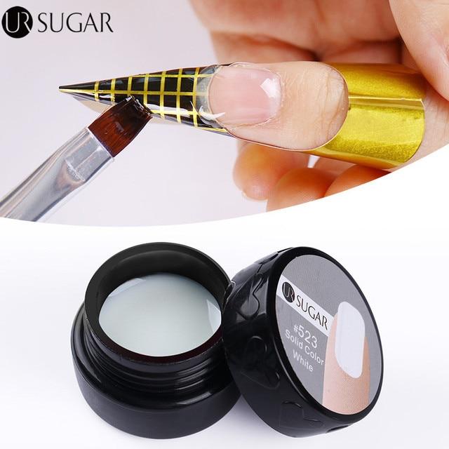 Ur Sugar 7ml Uv Builder Gel Nails Pink Extension Polish Color Nail Art