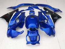 Motorcycle Fairing kit for HONDA CBR600F2 91 92 93 94 CBR600 F2 CBR 600F2 1991 1992 1994 ABS Blue black Fairings set+gifts HP12