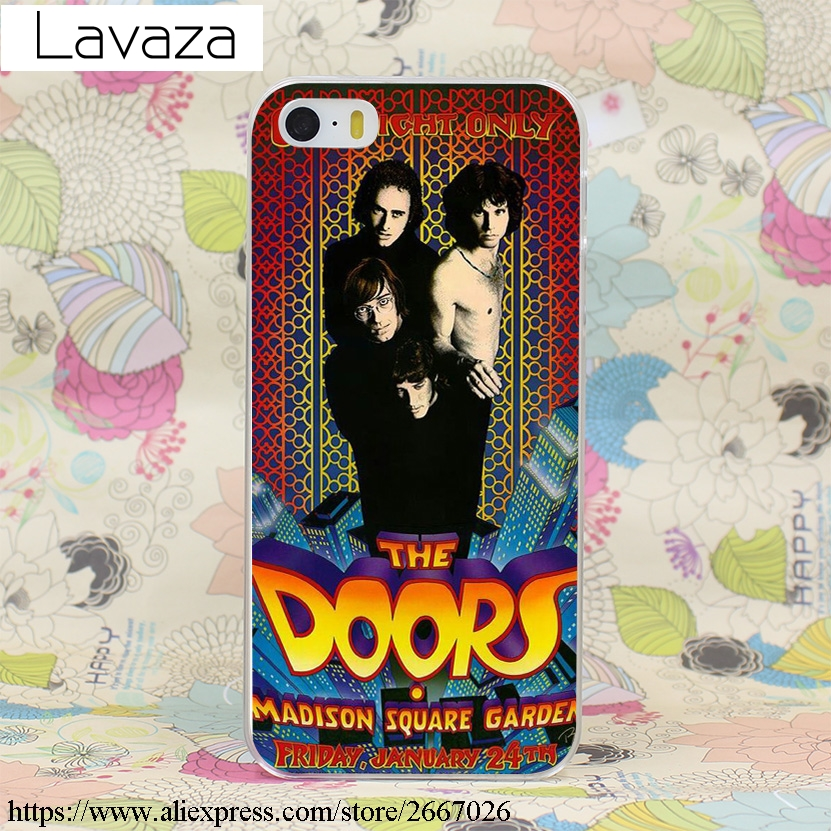 Lavaza The doors stranger alone JIM MORRISON Hard Transparent Cover Case for iPhone X 10 8 7 6 6S Plus 5 5S SE 5C 4 4S-in Half-wrapped Case from Cellphones ... & Lavaza The doors stranger alone JIM MORRISON Hard Transparent ... pezcame.com