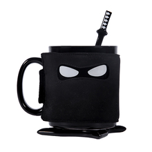Naruto ceramic cup mug with spoon knife cute