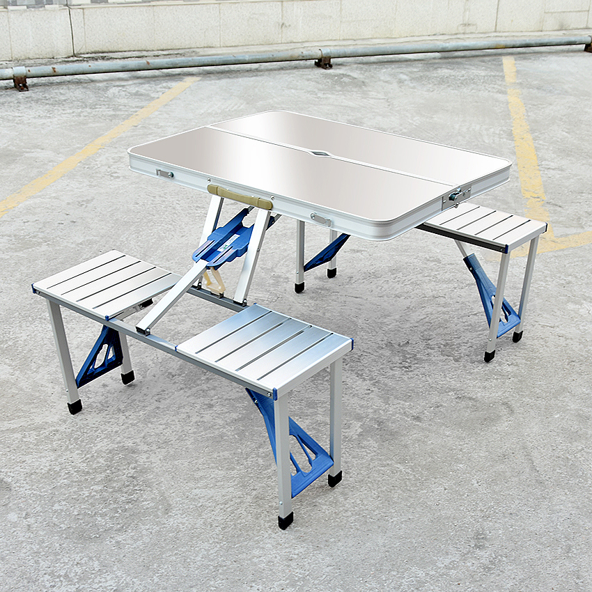 Multifunction Durable Portable Outdoor Barbecue BBQ Camping Aluminum Alloy Folding Table Outdoor Picnic Dining Table Desk StoolMultifunction Durable Portable Outdoor Barbecue BBQ Camping Aluminum Alloy Folding Table Outdoor Picnic Dining Table Desk Stool