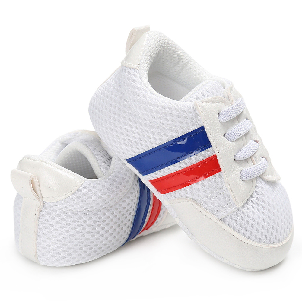 Newborn Elastic Shoes Baby Casual Shoes For Boy Girl Sneakers Newborn Infant Shoe Tenis Infantil Toddler Loafers Little Kid Soft Sole Elastic Footwear Boys Athletic Shoes