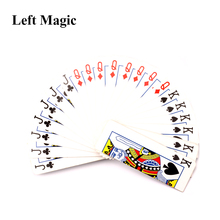 цена Torch To Card Fan - Fire Magic trick Flaming Torch to Card Fan Gimmick Stage magic Props change magic props G8096