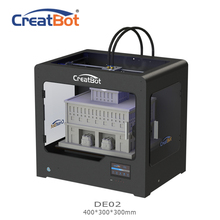 CreatBot 3d printer  DE02 Build Size 400*300*300 mm Dual Extruders Metal Frame  3d printer parts for sale 2KG abs for free