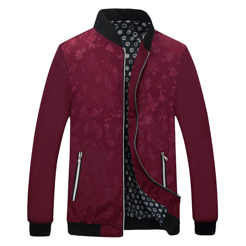 Quality Bomber Solid Casual Jacket Men Spring Autumn Outerwear Mandarin Sportswear Mens Jackets for Male Coats Quality Bomber Solid Casual Jacket Men Spring Autumn Outerwear Mandarin Sportswear Mens Jackets for Male Coats M-5XL 6XL 7XL