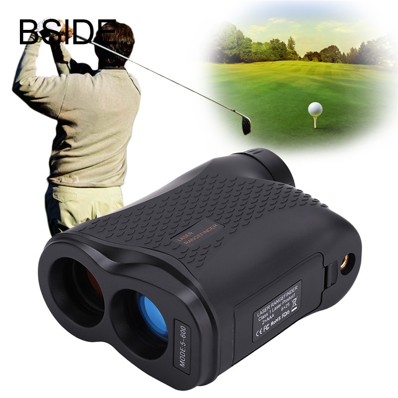 Telescope trena laser rangefinders distance meter Digital 6X 600M Monocular hunting golf laser range finder tape measure