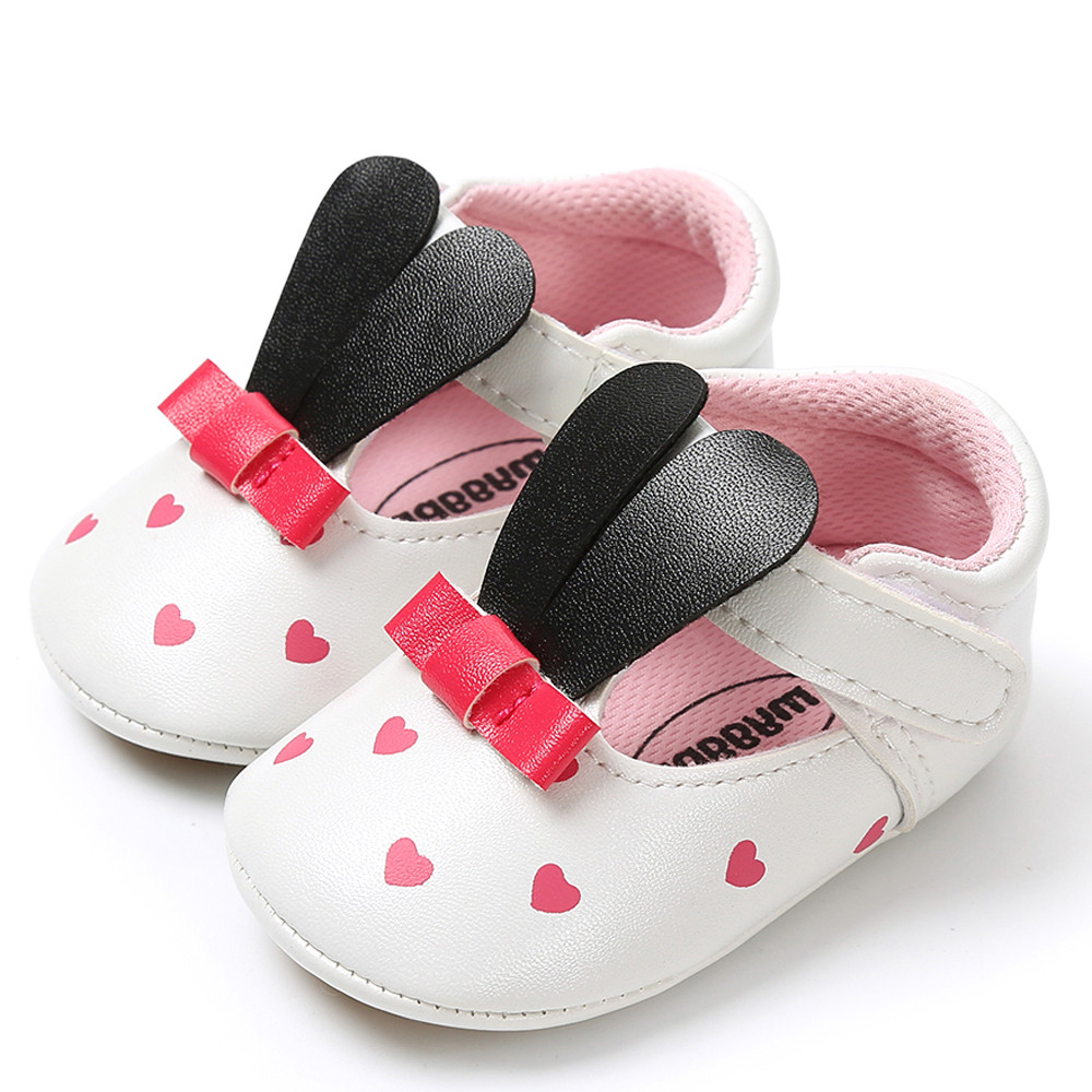 Baby PU Leather Shoes Newborn Girl Soft Shoes Bow Fringe Soft Soled Non-slip First Walkers Infant Bowknot Shoes 0-18M #QJ